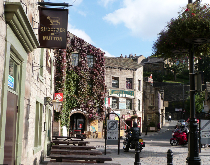 accessible hebden bridge