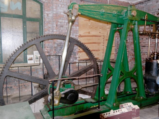 a floor early beam engine